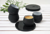 Eve - Ceramic espresso cup with saucer
