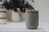 Medium jar- Ceramic jar in different solid colors