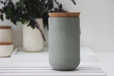 Large jar- Ceramic jar in different solid colors