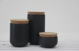 JARS- Ceramic set of 3 different jars