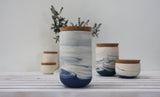 Large jar- Ceramic jar in different colors