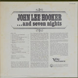 John Lee Hooker | ...And Seven Nights