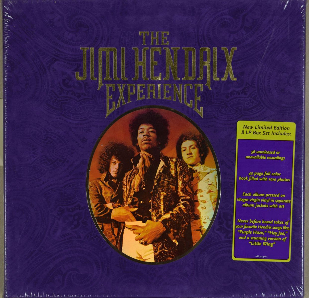 The Jimi Hendrix Experience | 8 LP Box Set