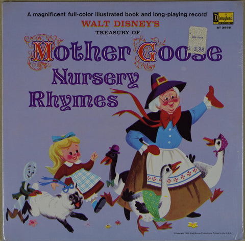 Walt Disney | Walt Disney's Treasury Of Mother Goose Nursery Rhymes