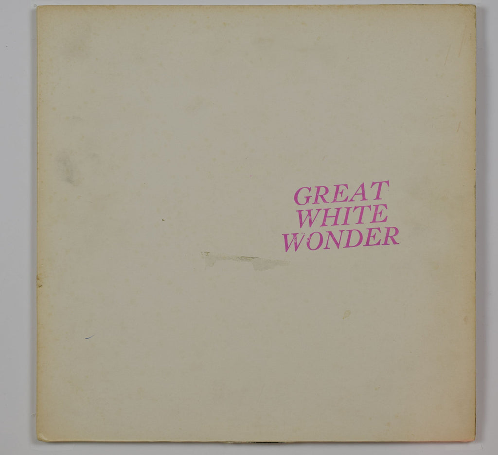 Bob Dylan / Great White Wonder