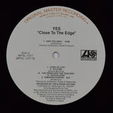 Yes | Close To The Edge