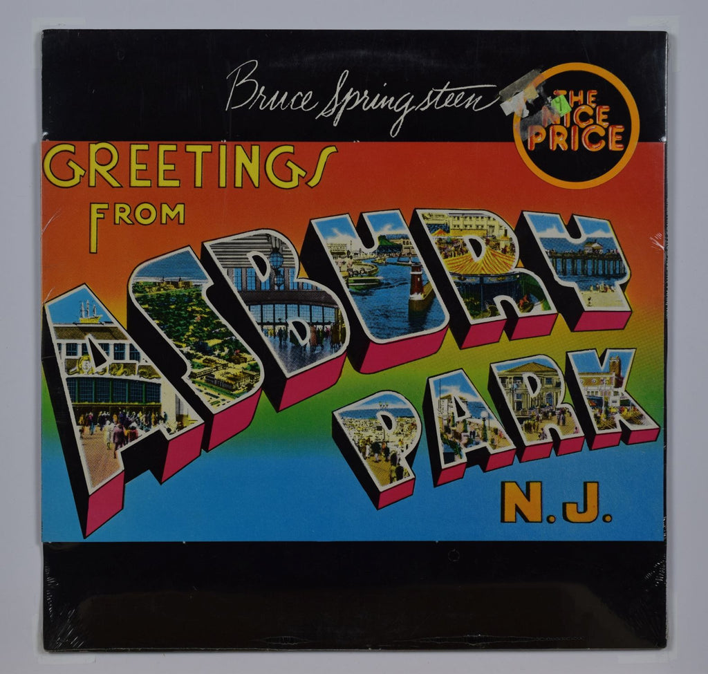 Bruce springsteen greetings from asbury park nj rasputin records bruce springsteen greetings from asbury park nj m4hsunfo