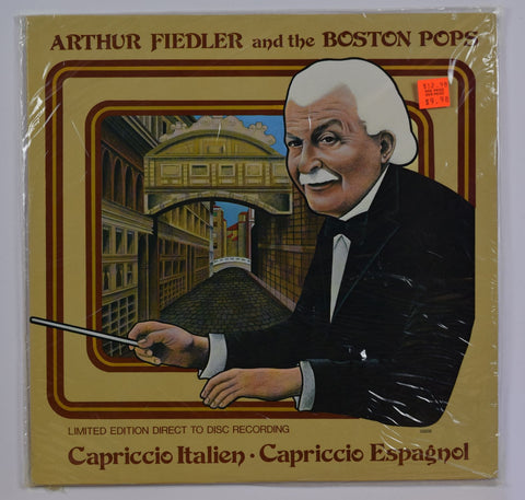 Arthur Fielder and the Boston Pops / Capriccio Italien - Capriccio Espagnol