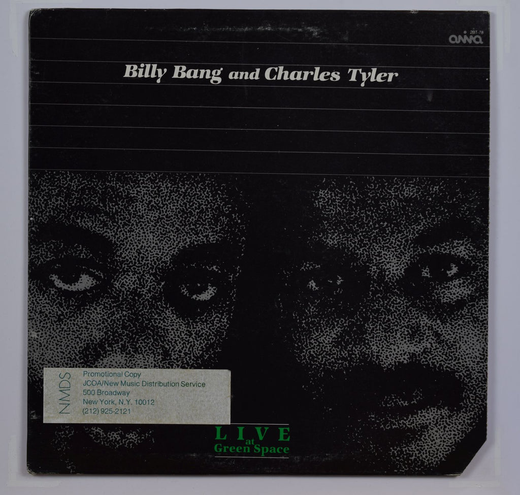 Billy Bang/Charles Tyler | Live At Green Space