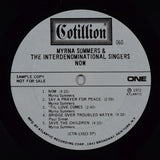 Myrna Summers | Myrna Summers & The Interdenominational Singers