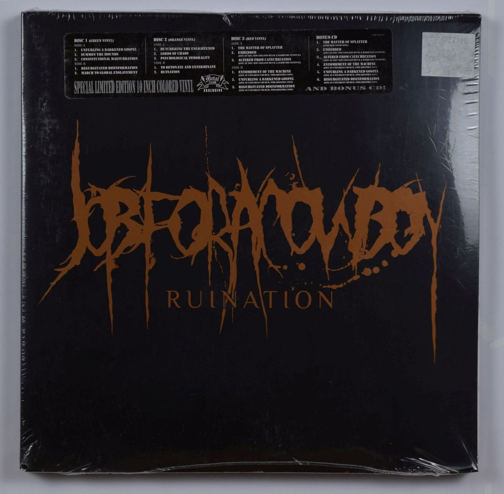 Job For A Cowboy | Ruination