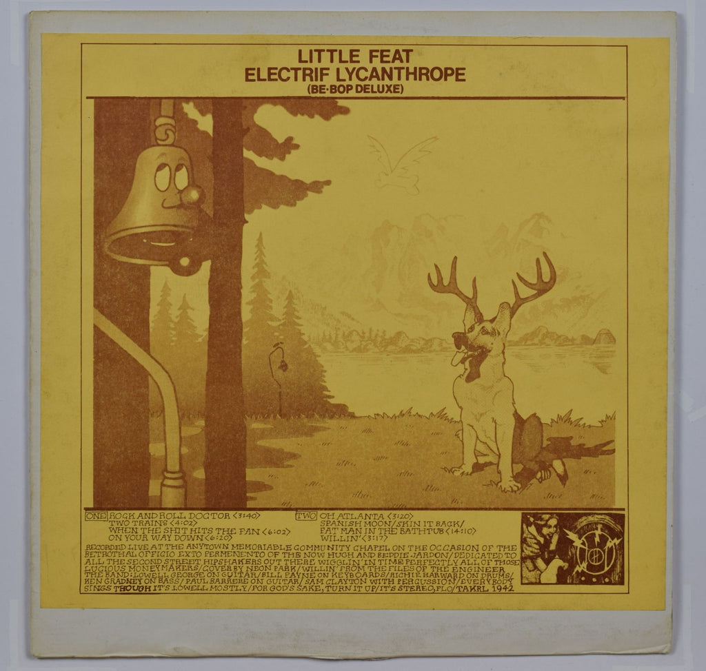 Little Feat | Electrif Lycanthrope (Be-Bop Deluxe)