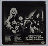 Motley Crue | On With The Show - Live In Fresno/Boston 1976
