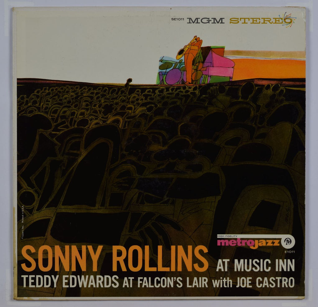 Sonny Rollins/Teddy Edwards | At Music Inn/At Falcon's Lair With Joe Castro