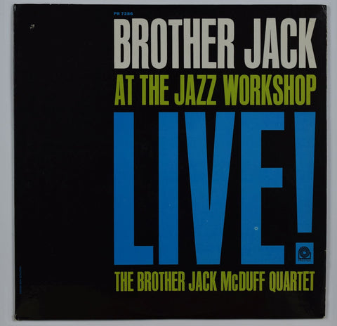 Brother Jack McDuff / Brother Jack At The Jazz Workshop