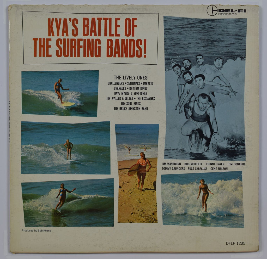 Various Artists | Kya's Battle Of The Surfing Bands
