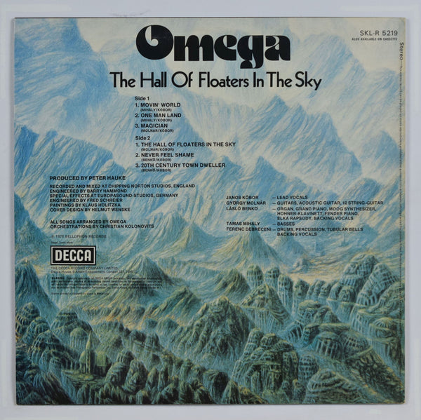 Omega The Hall Of Floaters In The Sky Rasputin Records