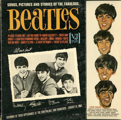 Beatles / Songs, Pictures And Stories Of The Fabulous Beatles