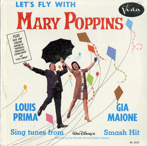 Louis Prima - Gia Maione / Let's Fly With Mary Poppins