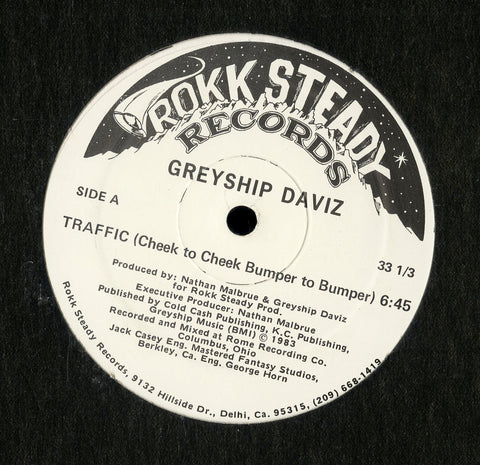 Greyship Daviz / Traffic - This Groove Is On The Loose - Get Up, Get Down, Let Your Body Pop