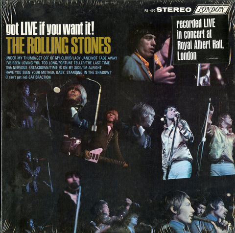 Rolling Stones / Got Live If You Want It!