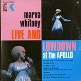 Marva Whitney / Live And Lowdown At The Apollo