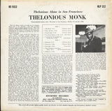 Thelonious Monk / Thelonious Alone In San Francisco