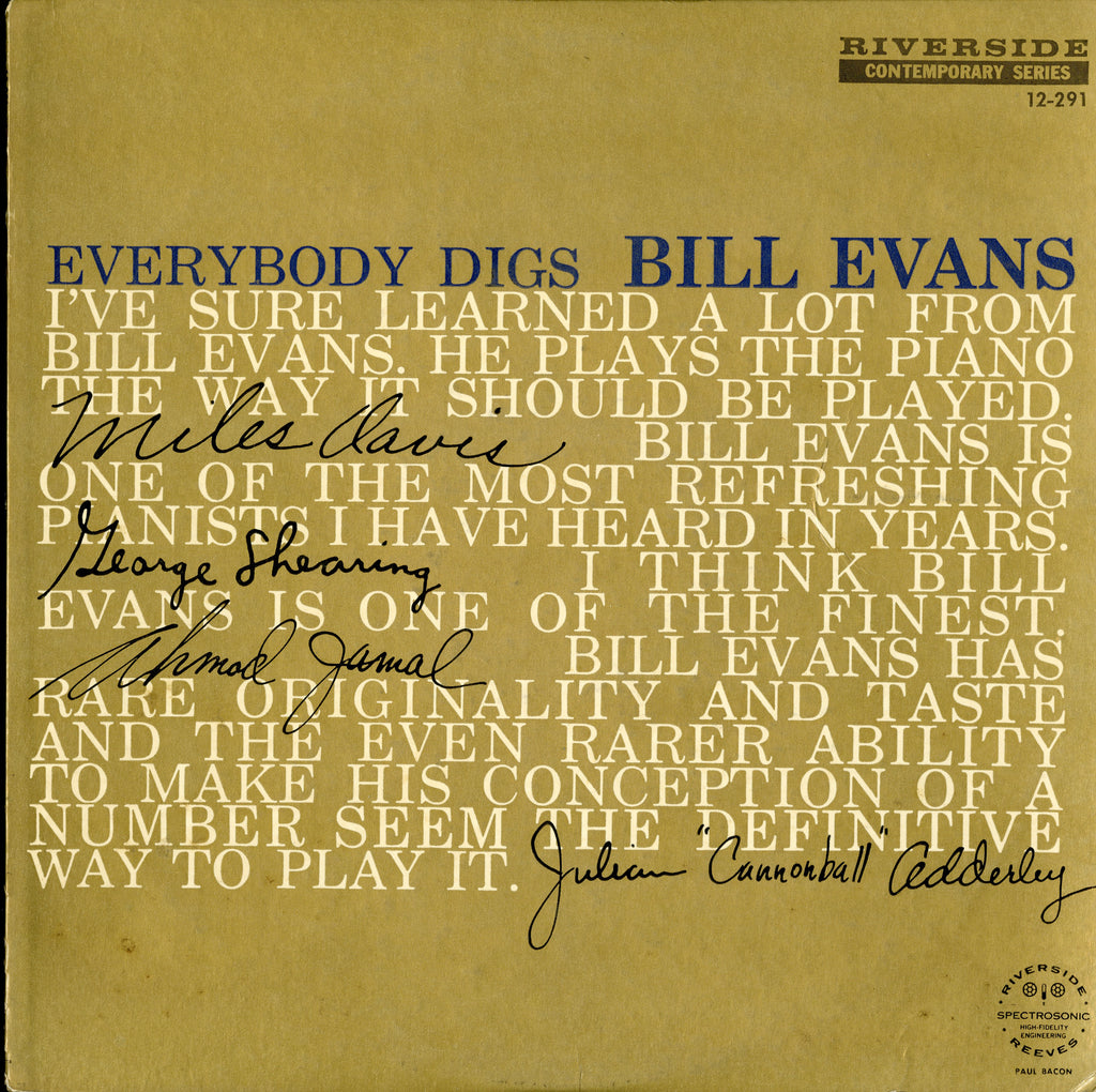 Bill Evans / Everybody Digs Bill Evans