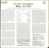 Bill Evans / New Jazz Conceptions