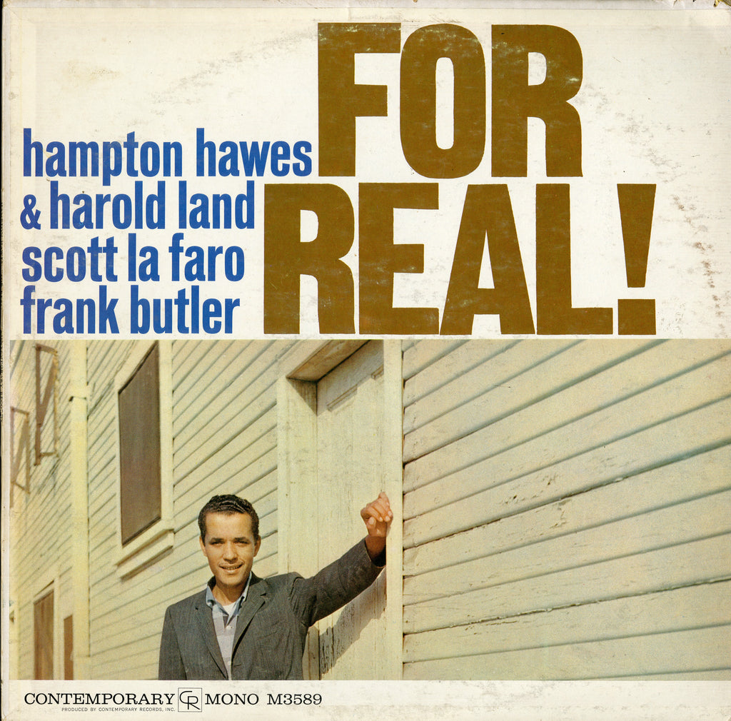 Hampton Hawes / For Real!