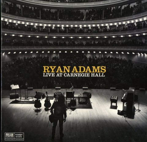 Ryan Adams / Live At Carnegie Hall