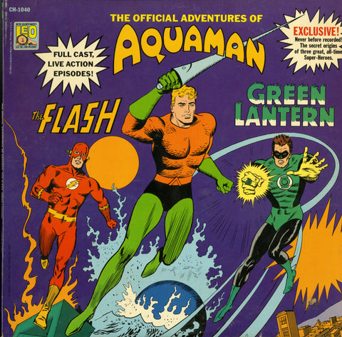 Aquaman, The Flash & Green Lantern / The Official Adventures...