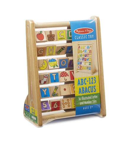 ABC-123 Abacus from Melissa & Doug