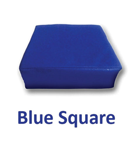 Blue Square Vibrating Seat Cushion