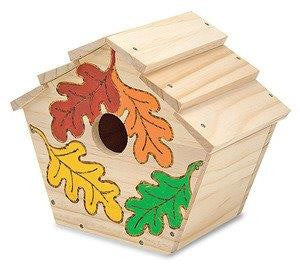Build-Your-Own Wooden Birdhouse by Melissa & Doug