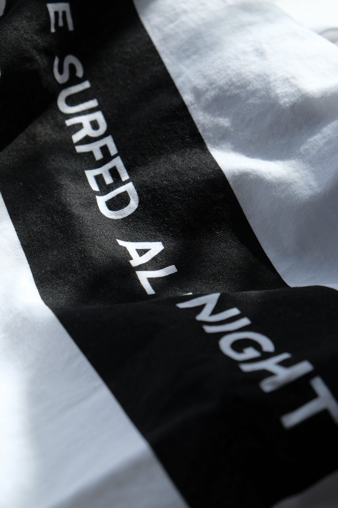 T-Shirt - All Night - White