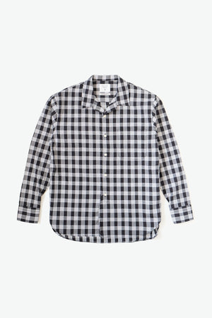 Hawaiian Prepwear Woven Shirt - Palaka - Black/White