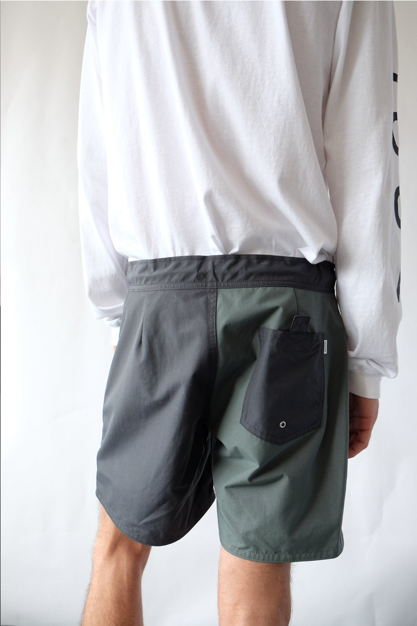 Shorts - Koko Boardshort, Quad - Dark Sage/Grey