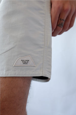 Shorts - Koko Boardshort, Clean - White