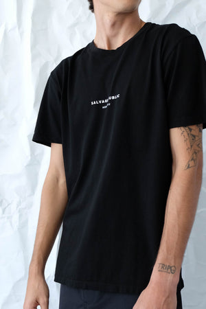 T-Shirt - Brand Stamp - Black