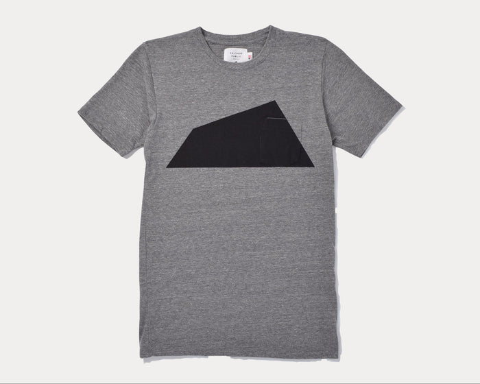 Tee - Diamond Head T-Shirt - Heather Grey