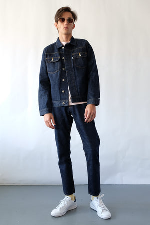 Jacket - Holo Denim Jacket - Dark Wash