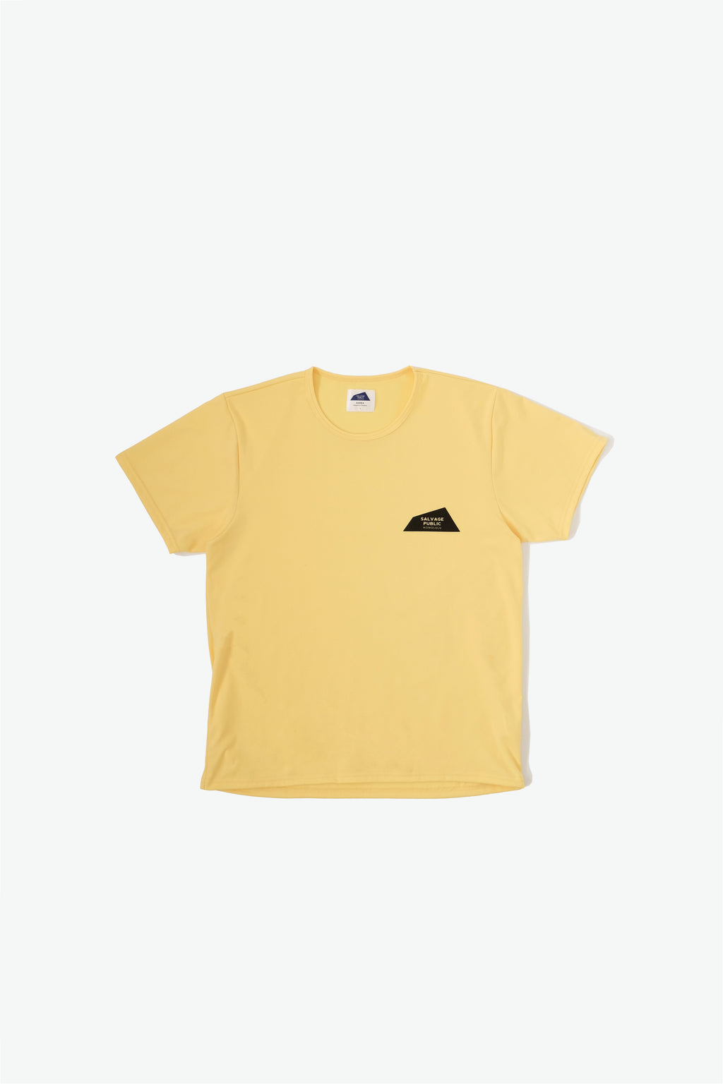 Surf T-Shirt - Logo - Yellow