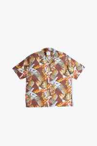 Duke Woven Shirt - Tropical - Brown