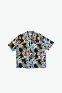 Duke Woven Shirt - Tropical - Black
