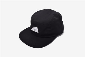 Hat - Bellows, 5-Panel Cap - Black