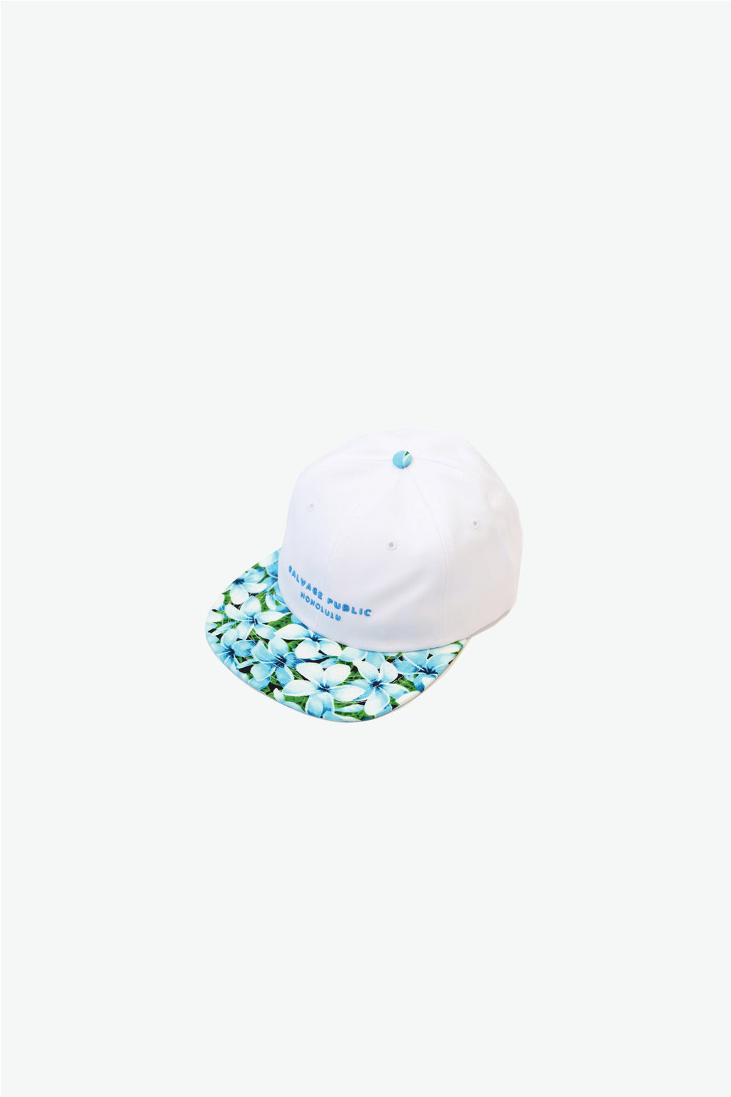 Hat - 6-Panel - Plumeria Blue