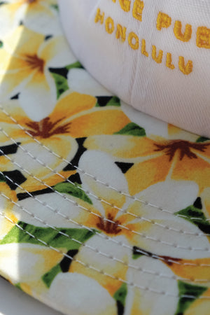 Hat - 6-Panel - Plumeria Yellow