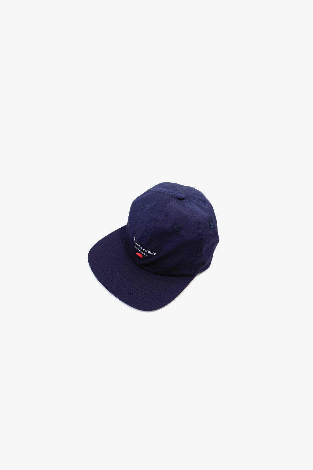 Hat - Pops, Unstructured 6-Panel - Navy
