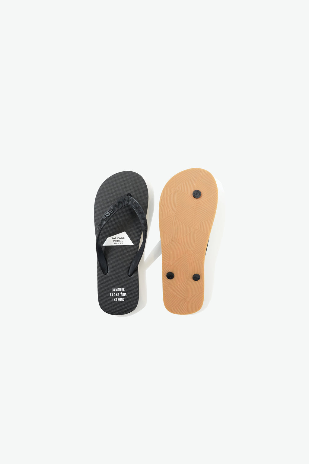 Slippers - HAYN x Salvage Public - Black